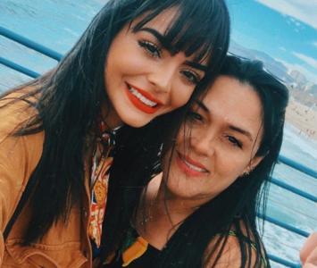 Majo Vargas y su mamá