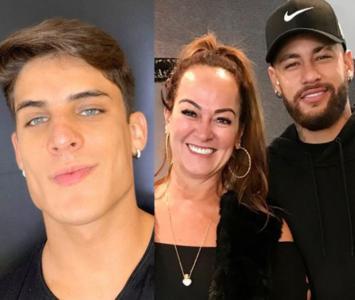 Neymar, Tiago y Nadine