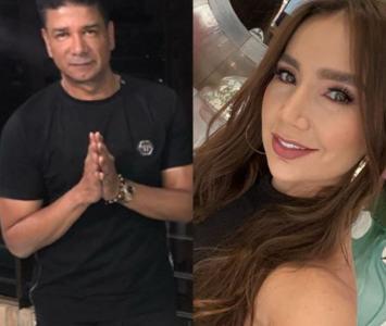 Iván Calderón y Paola Jara