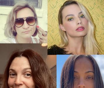 Margot Robbie y actrices de Hollywood