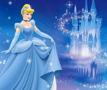 Cenicienta - Imagen tomada de la película de Disney