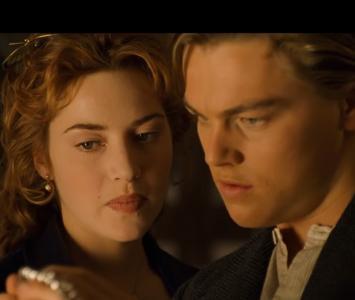 Escena dibujo Titanic