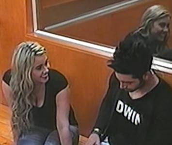 Manuela Gómez y Edwin Garrido