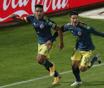 Falcao Garcia y James Rodríguez
