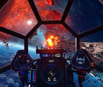 Caza imperial en Star Wars: Squadrons