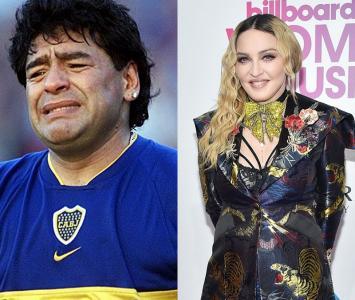 Madonna y Maradona