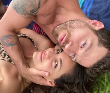 Valerie Domínguez y su novio tienen Covid-19