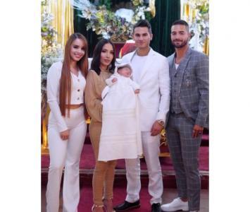 Bautizo hijo de Luisa Fernanda y Pipe Bueno