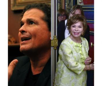 Isabel Allende y Carlos Vives