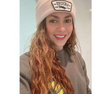 Shakira presume su esbelta figura