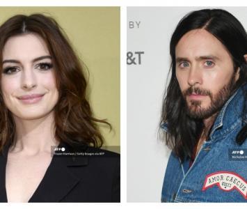 Anne Hathaway y Jared Leto