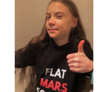 Greta Thunberg cumplió 18 años