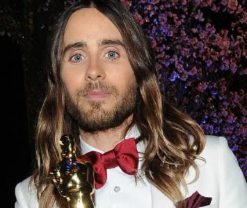 Jared Leto con su Oscar