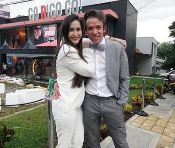 Rigoberto Urán y su esposa Michelle Durango