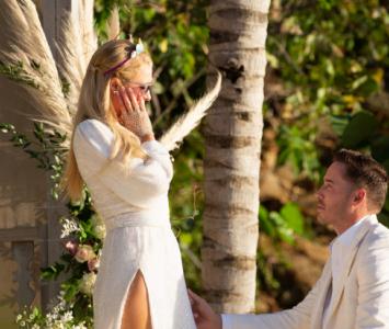 Paris Hilton y su prometido