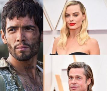 Margot Robbie, Brad Pitt y Diego Calva