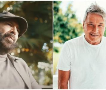 Juan Luis Guerra y Ricardo Montaner