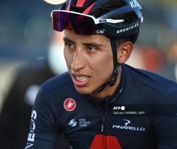 Egan Bernal en el Giro de Italia