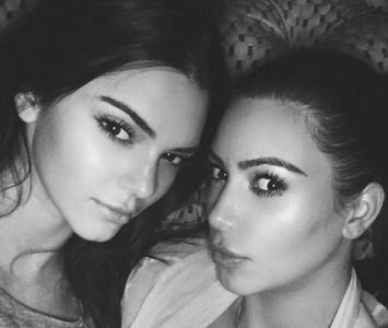 Kendall y Kim Kardashian