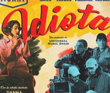 Morat y Danna Paola estrenan su canción 'Idiota'