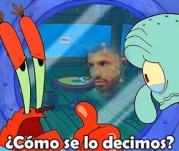 Memes que dejó la salida de Messi del Barcelona