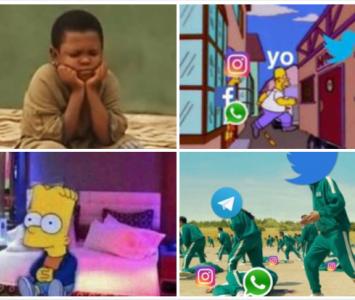 Memes caída WhatsApp